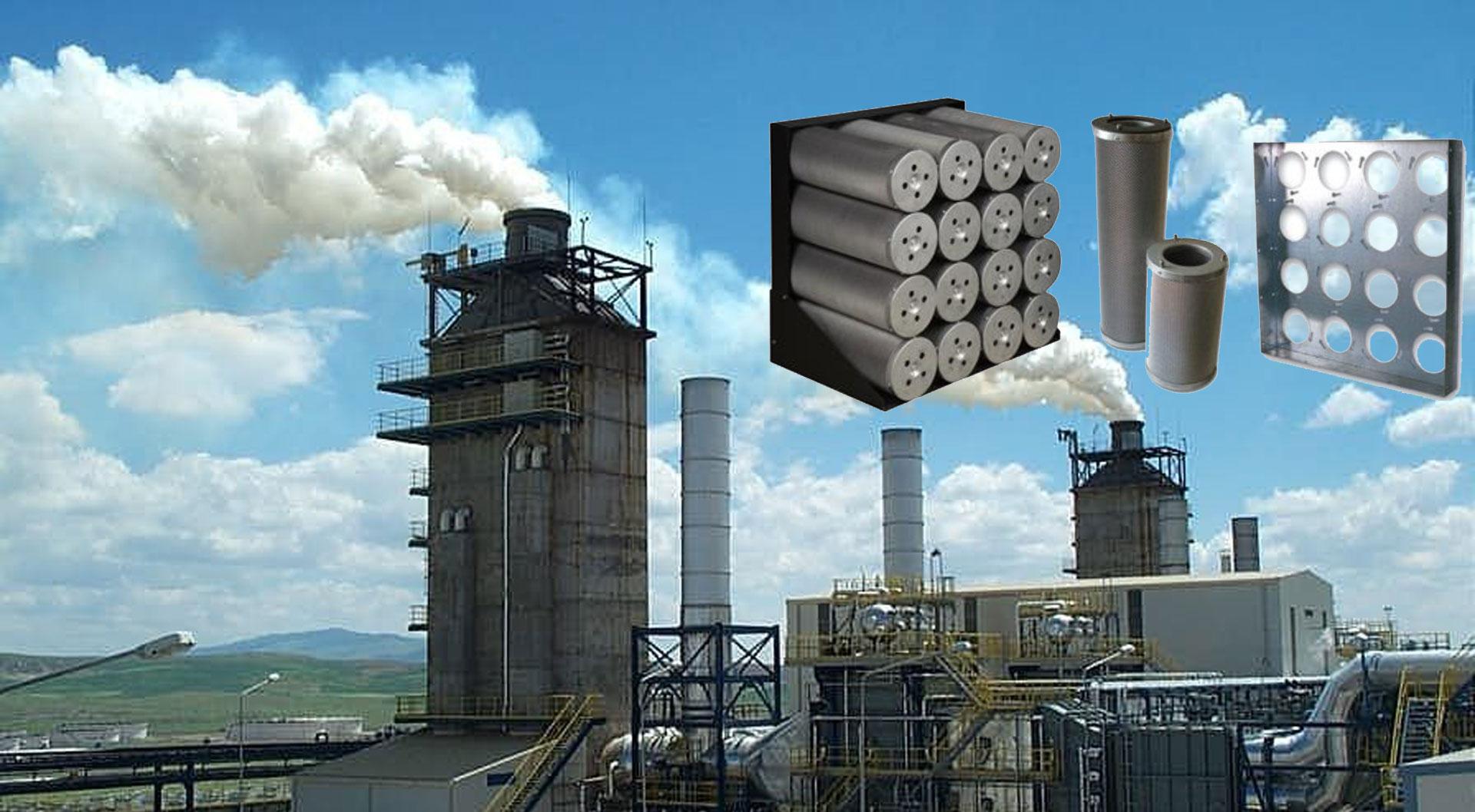 Aktif Karbon Koku ve Baca filtreleri